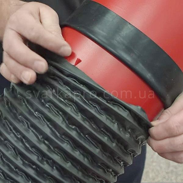 Соединение воздуховода с сварочной вытяжкой lincoln - фото 01