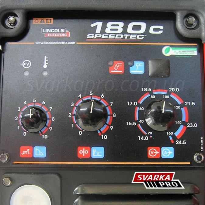 Фото панели управления Speedtec180C