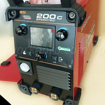 Лицевая панель сварочного аппарата Speedtec 200C