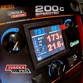 Цветной дисплей индикации и настройки Speedtec 200C